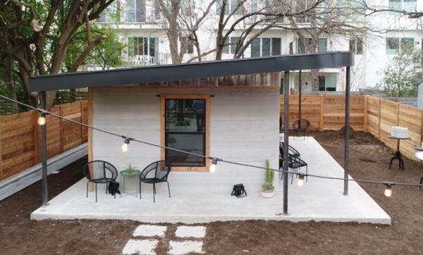 Cette jolie maison s'imprime en 3D en moins de 24 heures !