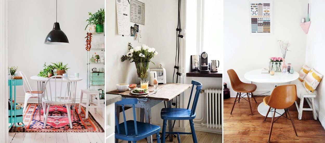 idées coin cuisine - aménager un coin repas dans la cuisine - 18h39.fr