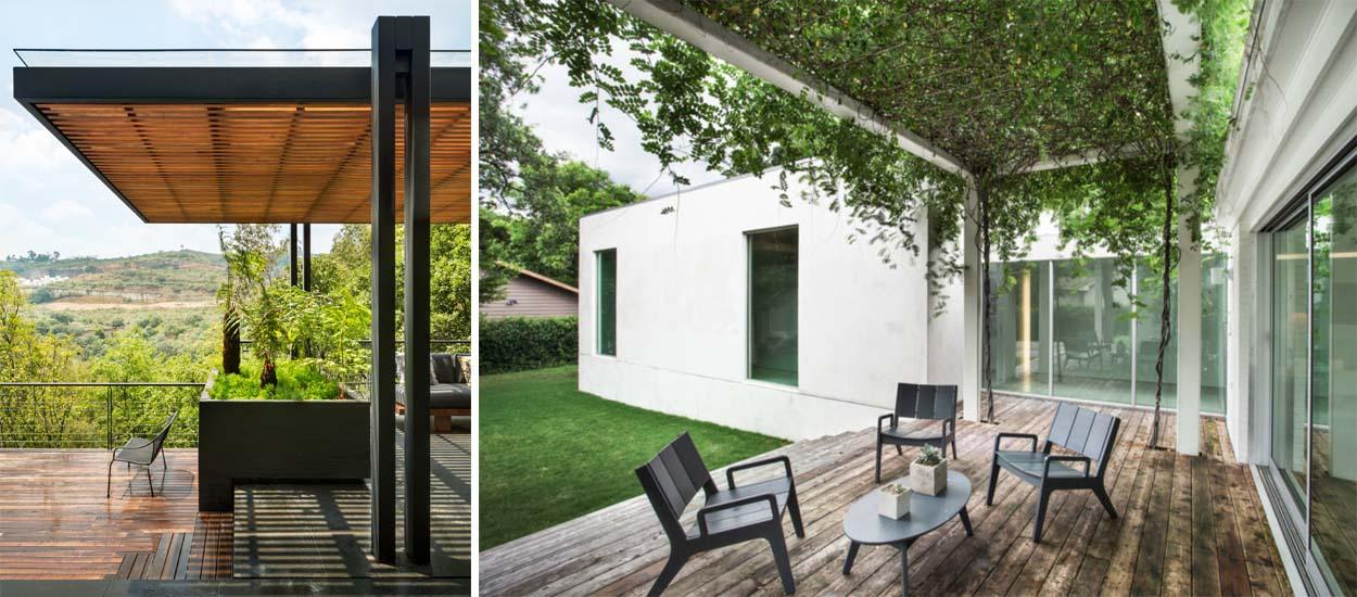 pergola adoss e autoportante en bois ou en alu comment choisir. Black Bedroom Furniture Sets. Home Design Ideas