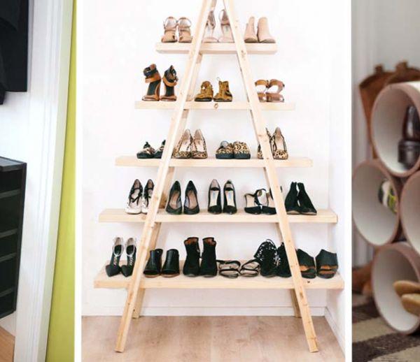 Tutos : 18 meubles à chaussures pratiques (et esthétiques !) à fabriquer vous-même