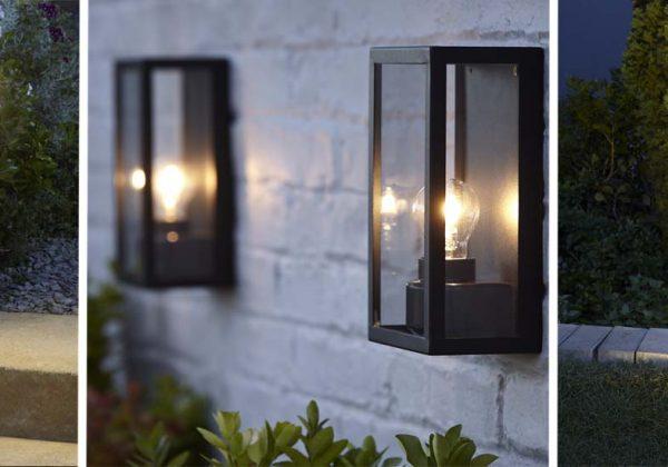 Appliques extérieures et lumières pour le jardin : sélection castorama