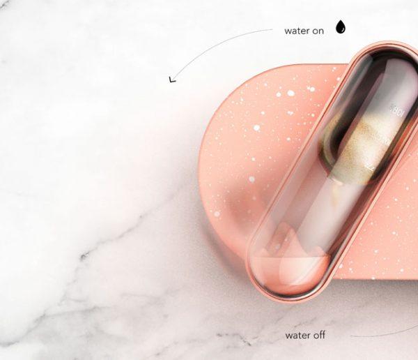 Ce robinet vous prévient quand vous passez trop de temps sous la douche