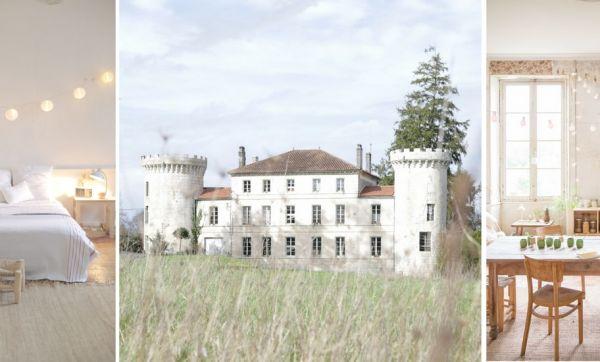 Ils sont partis vivre à la campagne et ont craqué pour un château à rénover entièrement