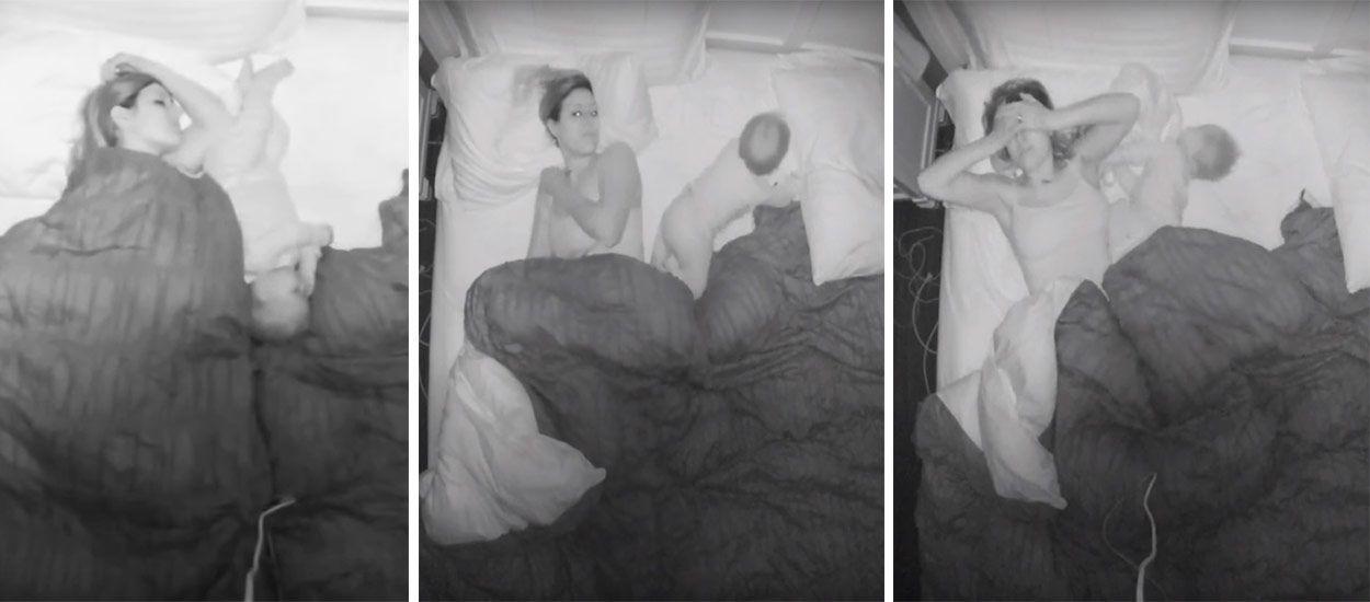 Une jeune mère se filme toute la nuit et montre pourquoi les mamans se réveillent toujours fatiguées