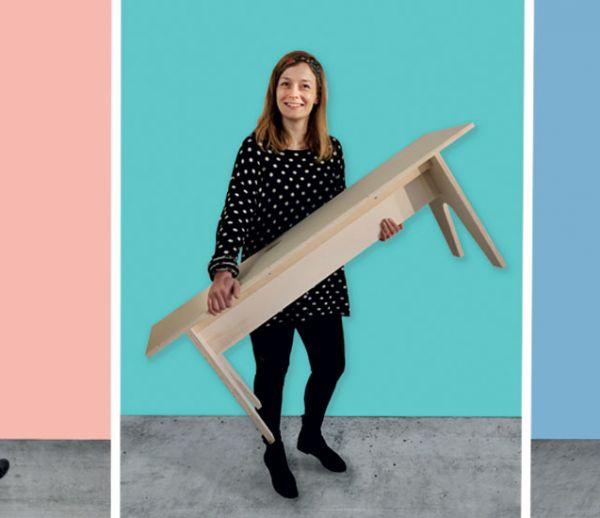 Ces designers organisent des ateliers ouverts à tous pour créer des meubles récup'