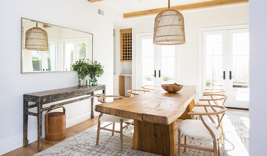 Inspiration décoration intérieur : 13 mobiliers en bois brut