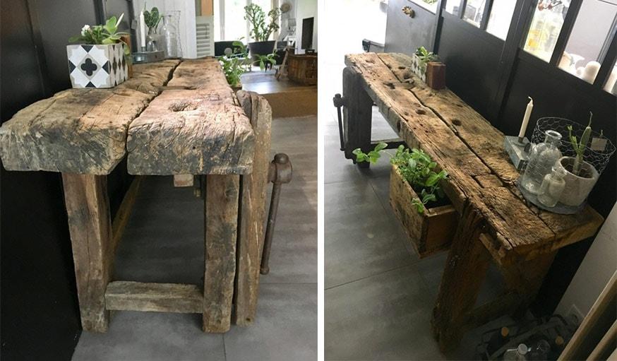 2e2f8d3a3 Inspiration décoration intérieur   13 mobiliers en bois brut