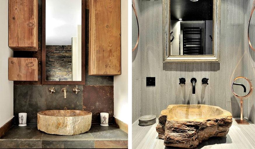 inspiration d coration int rieur 13 mobiliers en bois brut. Black Bedroom Furniture Sets. Home Design Ideas