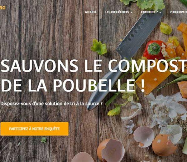 Un nouveau site pour vous aider à composter vos déchets et réduire votre poubelle
