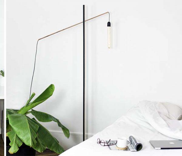 Tuto : fabriquez un lampadaire original et minimaliste avec un socle en béton