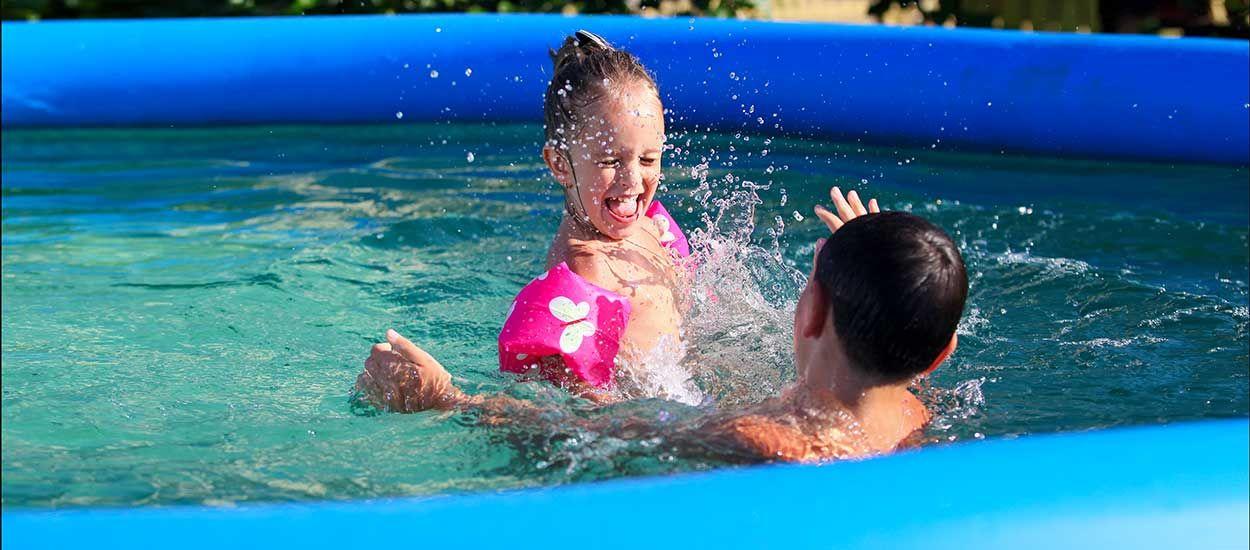 Quelle piscine gonflable choisir pour votre jardin ?