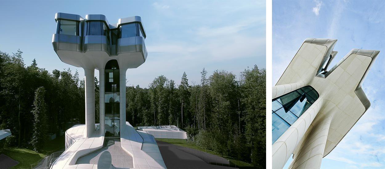 La seule maison construite par l'extravagante architecte Zaha Hadid enfin dévoilée
