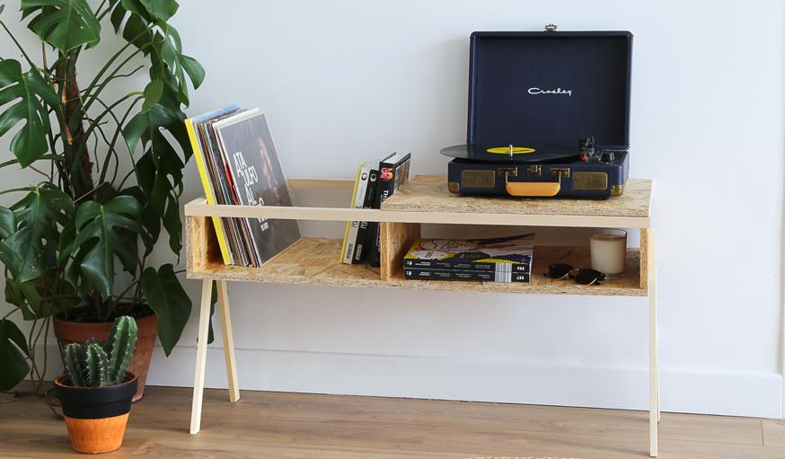 meuble range-vinyle