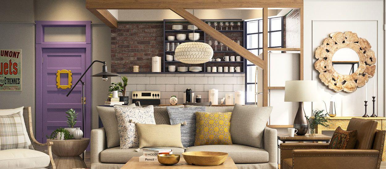 Voici à quoi ressemblerait l'appartement de Monica dans Friends en 2018