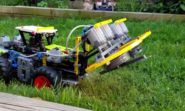 Un père et son fils transforment des Lego en d'incroyables machines !
