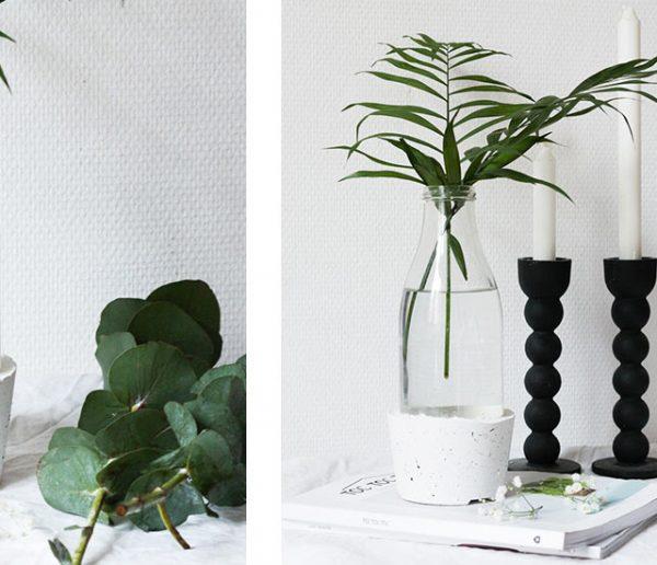 Tuto : Fabriquez votre propre vase en ciment pour moins de 5 euros !
