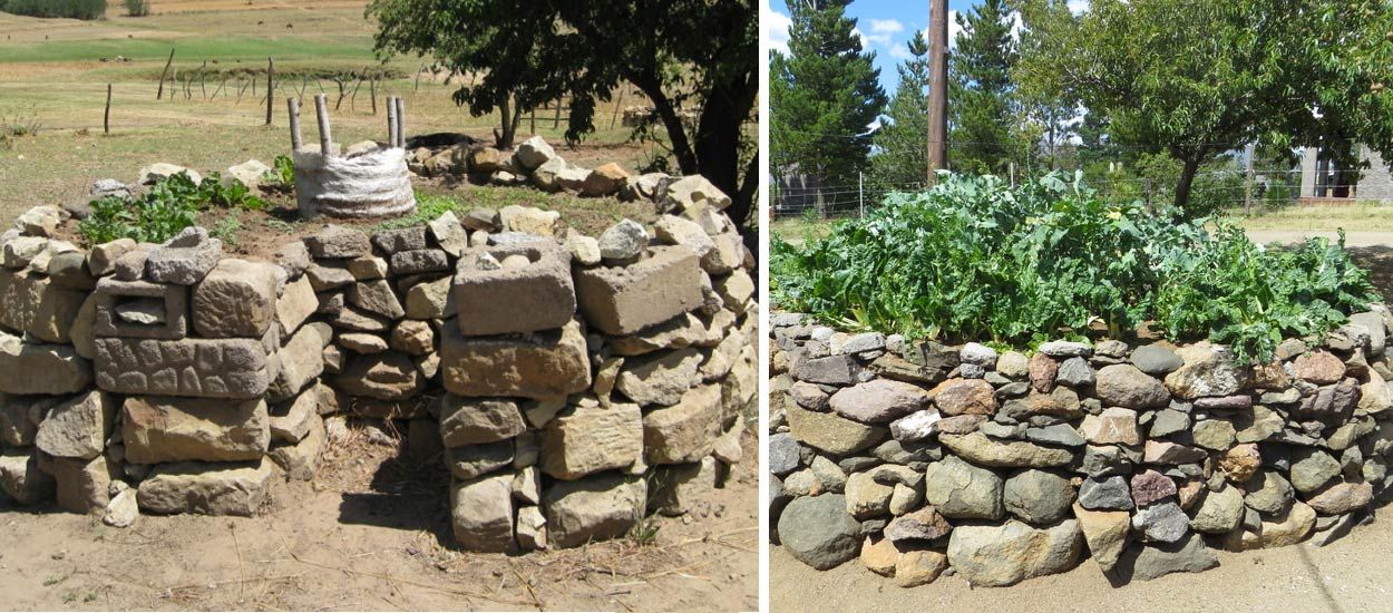Keyhole Garden : avec le potager en trou de serrure, cultivez fruits et légumes à l'infini