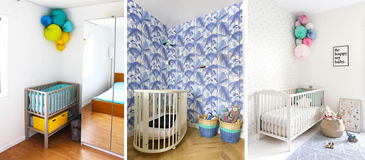 Berceau dans la chambre des parents : Comment aménager le coin bébé ?