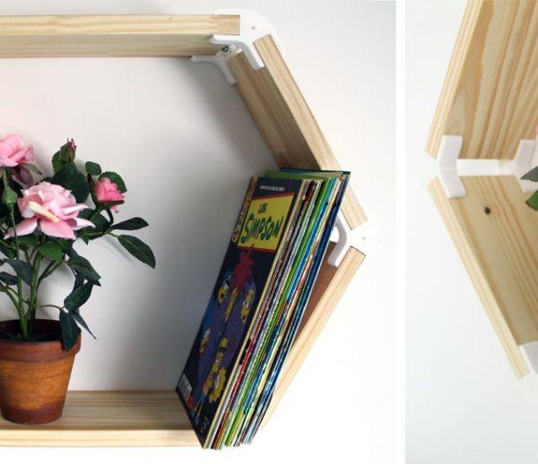 Tuto : Fabriquez une belle étagère hexagonale avec une imprimante 3D