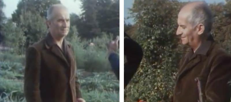 Vidéo : quand Louis de Funès évoquait déjà son potager bio... en 1972 !