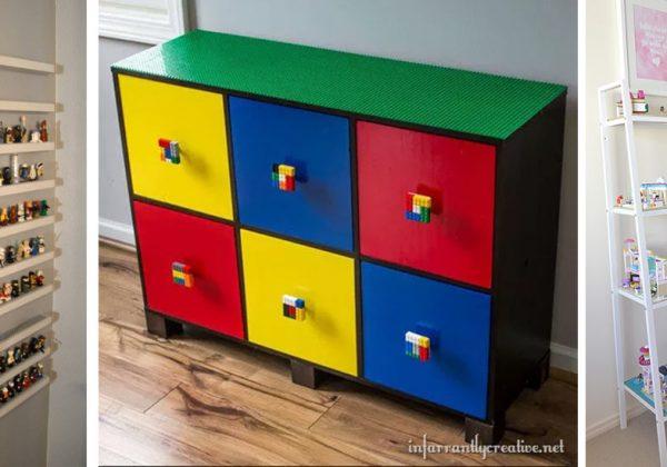 Sac, boîte, table : 13 Idées de rangement pour trier les LEGO