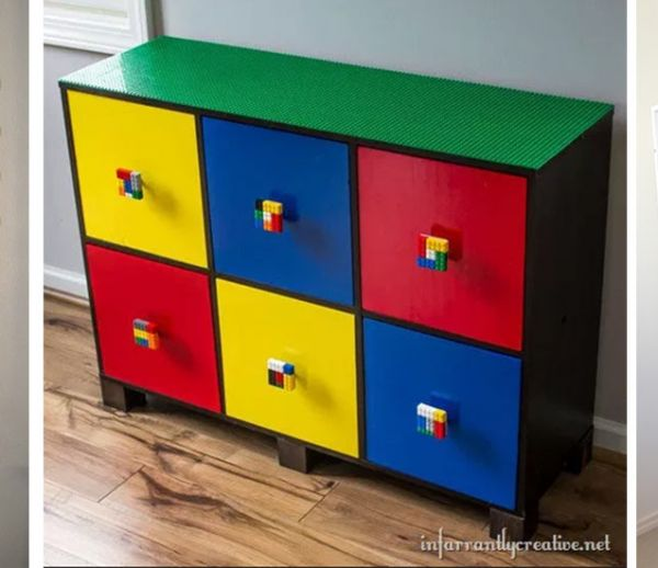 Les 13 idées les plus originales et pratiques pour ranger tous vos Lego