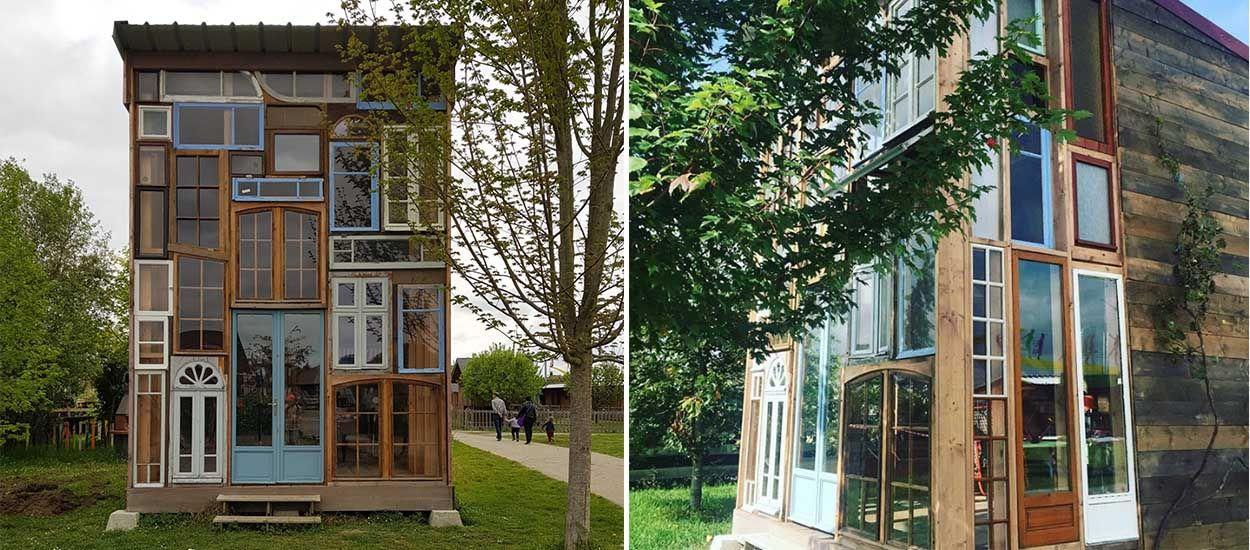 Cette drôle de maison d'un village Emmaüs sera à l'affiche du prochain film de Jean Dujardin