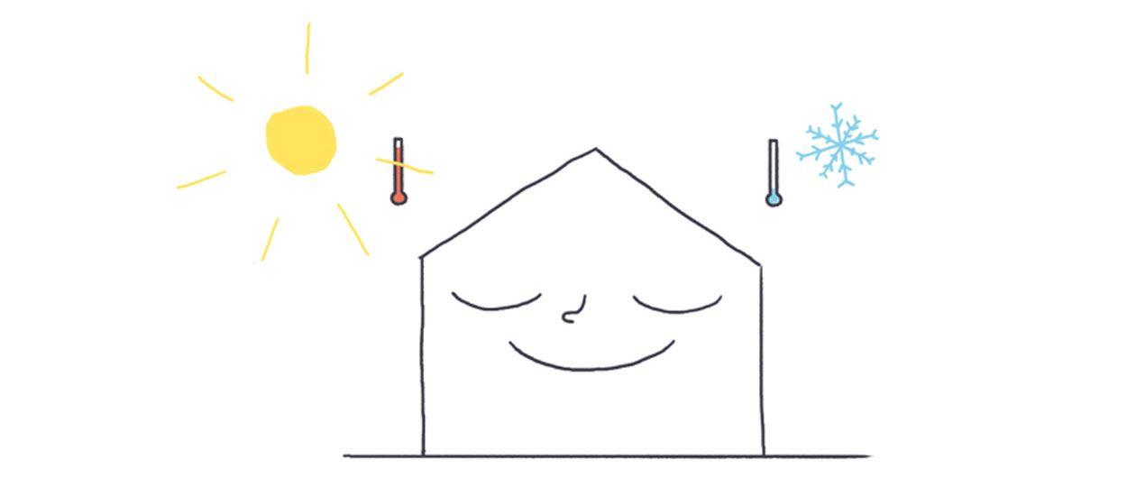 Tout comprendre sur la maison passive en 5 dessins