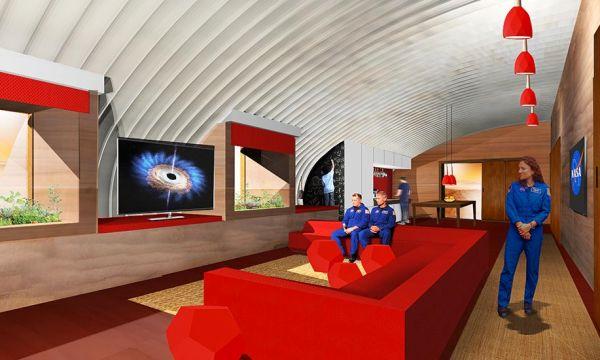 La NASA projette d'utiliser des champignons pour construire des maisons sur Mars