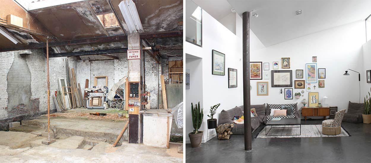 9 idées déco originales à piocher dans cet ancien entrepôt transformé en loft