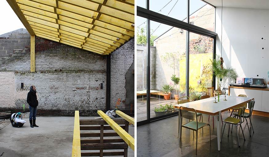 id es d co la maison inspirez vous de cet ex hangar transform en loft. Black Bedroom Furniture Sets. Home Design Ideas