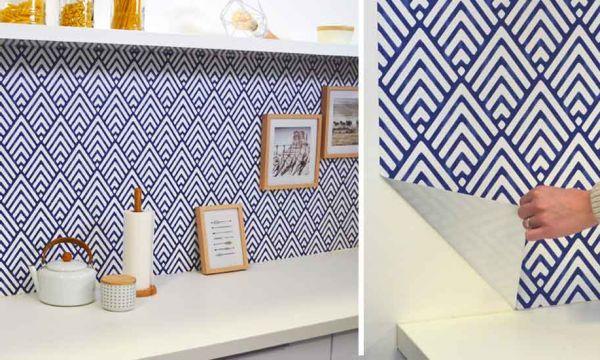 Changez de déco en un clin d'œil avec le papier peint repositionnable