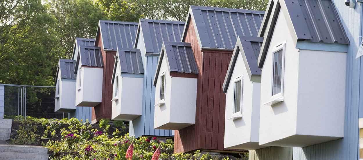 L'Écosse inaugure son premier village de tiny houses pour loger des personnes sans-abri