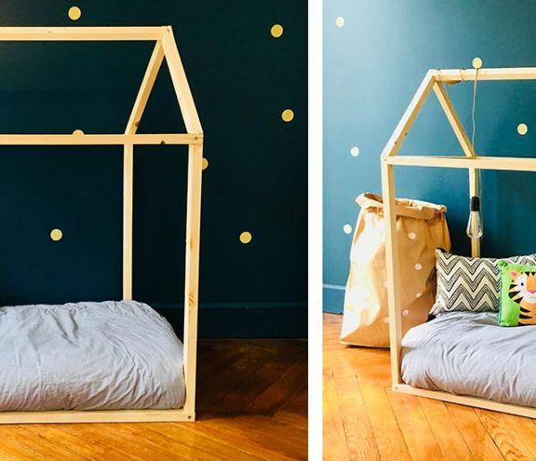 Tuto : Fabriquez un lit cabane en bois pour les enfants