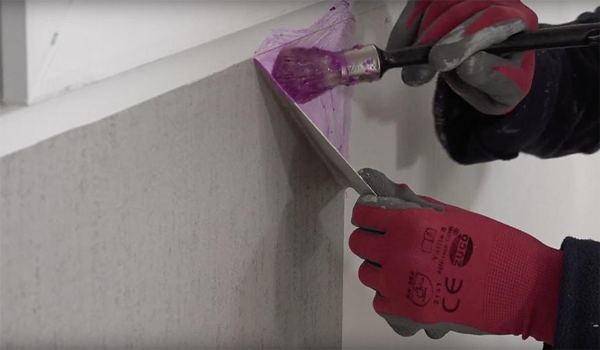 La Mthode Toute Simple Pour Recoller Du Papier Peint Dchir