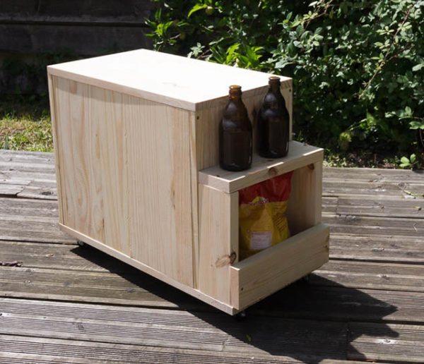 Tuto : Fabriquez un bac à glacière en bois pour une terrasse super équipée !