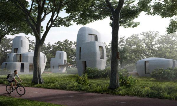 Première mondiale : tout un quartier résidentiel va être imprimé en 3D aux Pays-Bas