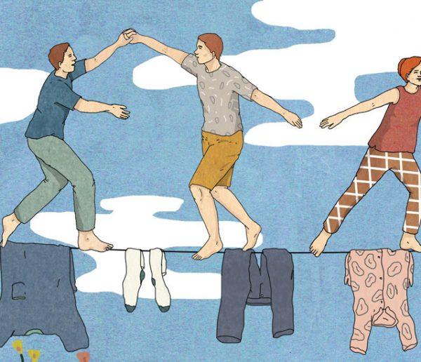 Et si les hétéros s'inspiraient des couples LGBT pour répartir équitablement les tâches ménagères ?