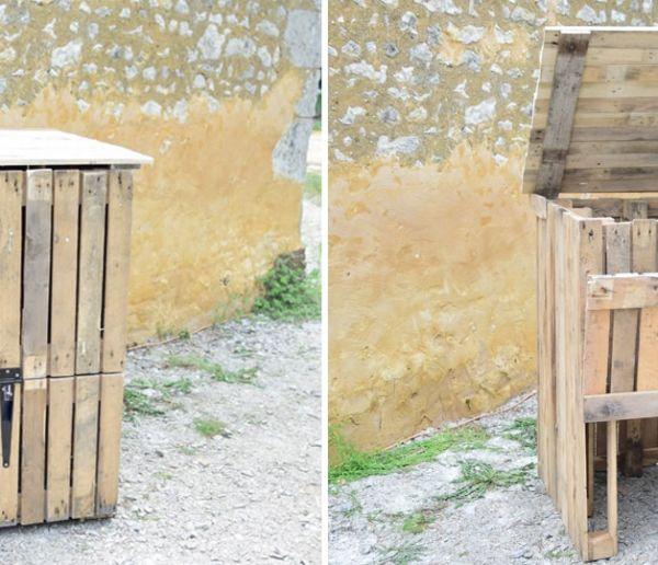 Tuto : Fabriquez un bac à compost en palette pour moins de 30 euros