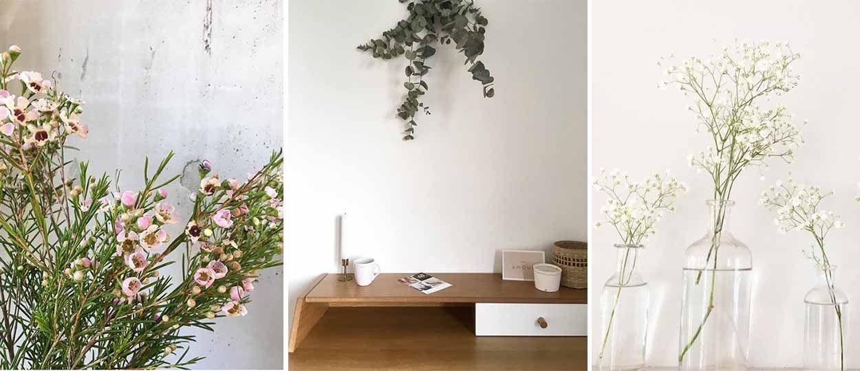 Gypsophile, eucalyptus, wax : voici les 3 bouquets tendance de l'été