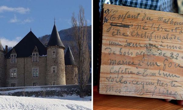 Il y a 120 ans, un menuisier écrivait l'histoire de tout un village sous le plancher de ce château