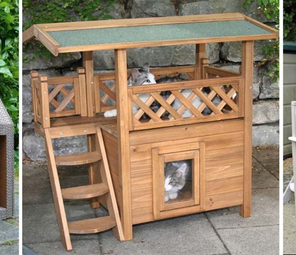 14 idées de cabane pour chat dans le jardin (c'est le moment de succomber à la tendance)