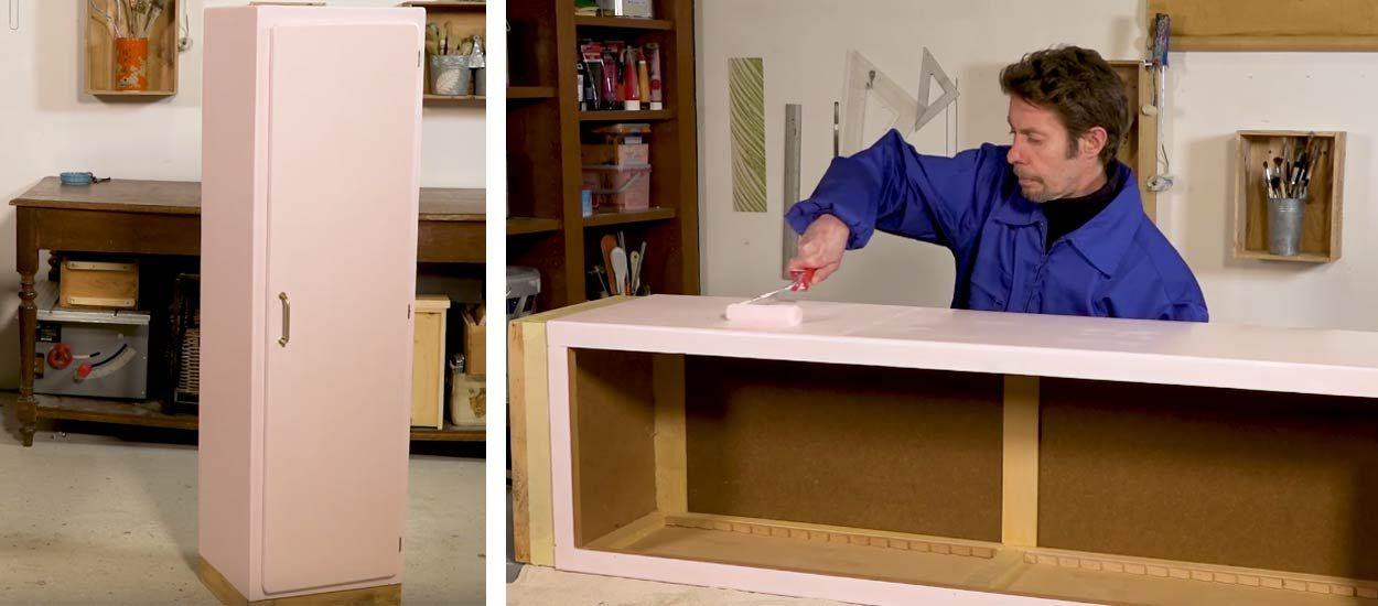 tuto comment peindre un meuble sans faire de trace - Comment Peindre Sans Trace
