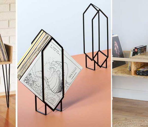 18 meubles tendance pour ranger votre collection de vinyles