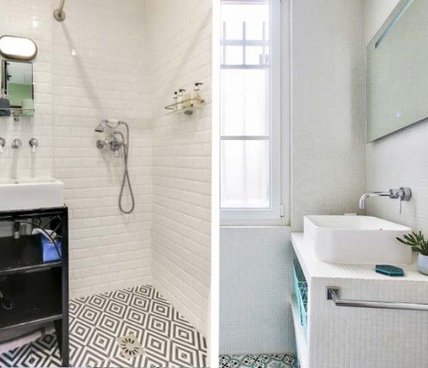 Optimiser une petite salle de bains couloir am nager une for Optimiser salle de bain