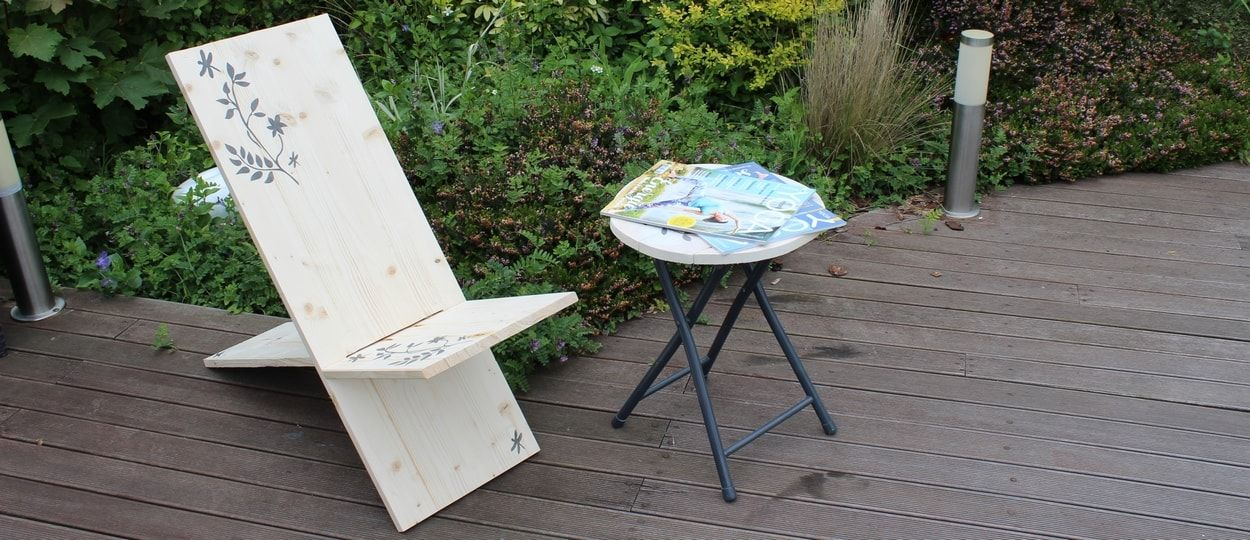 Tuto : Fabriquez un siège de Viking avec une simple planche de bois pour 25 euros