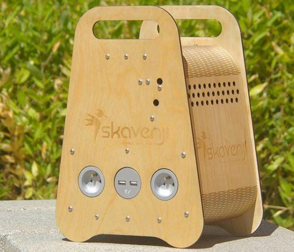 Reliez cette box à un vélo ou un panneau solaire pour fabriquer votre propre énergie