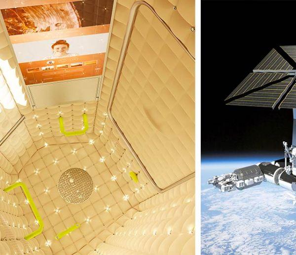 Voici les premières images de l'hôtel dans l'espace designé par Philippe Starck