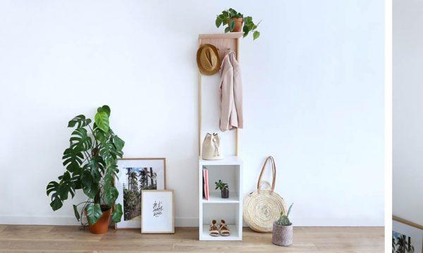 Tuto : Fabriquez un joli meuble de rangement pour organiser votre entrée