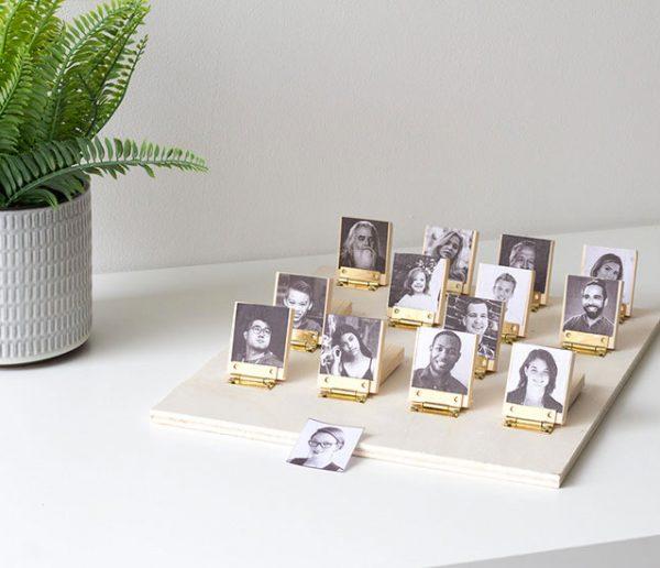 Qui est sur la photo ? Fabriquez une version personnalisée et créez votre jeu en bois